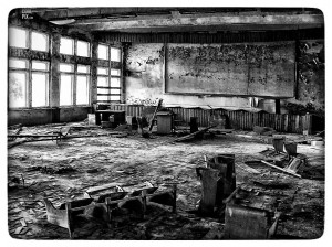 STRUCTURAL INSPECTION - ABANDONED SCHOOL BUILDING